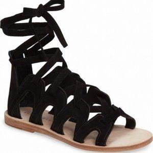 NEW Mercer Edit EZontheI Leather Gladiator Sandals